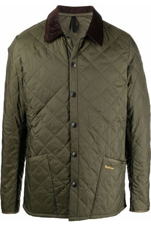 Barbour Hombre Chamarras - New Classic diamond quilted jacket