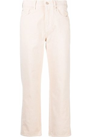7 for all Mankind Mujer Capri o pesqueros - Cropped straight-leg trousers