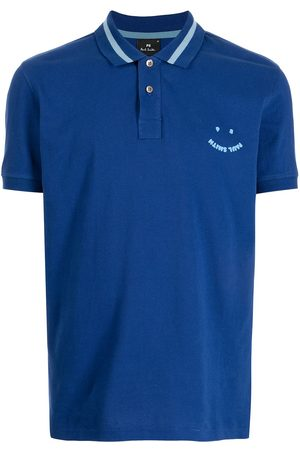 Paul Smith Chest logo-patch polo shirt