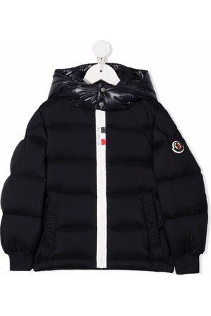 Moncler Niño Chamarras - Contrast-hood Hale padded jacket