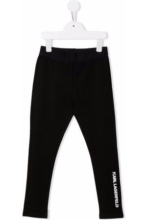 Karl Lagerfeld Kids Logo print leggings