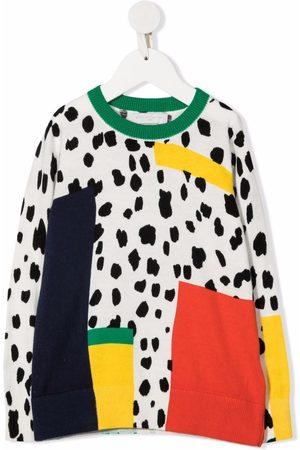 Stella McCartney Kids Niña Con capucha - Dalmatian Spots-print organic cotton-blend sweatshirt