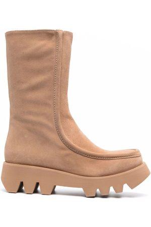 Paloma Barceló Mujer Botas y Botines - Ivet side-zip boots