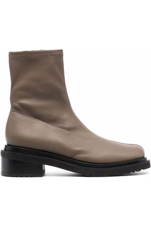By Far Mujer Botas y Botines - Zip-up leather boots