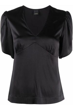 Pinko Mujer Blusas - Blusa de seda ajustada