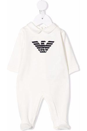 Emporio Armani Pijamas - Logo-print pajamas