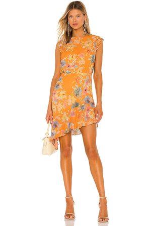 Amanda Uprichard Vestido ibiza en color naranja talla L en - Orange. Talla L (también en XS, S, M).