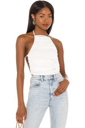 Camila Coelho Top sin mangas terry en color talla L en - White. Talla L (también en XXS, XS, S, M, XL).