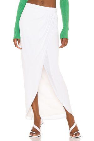 NBD Falda halena en color talla L en - White. Talla L (también en XXS, XS, S, M, XL).