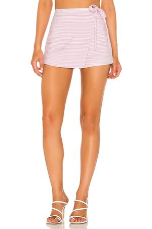 Lovers + Friends Falda-pantalón corrin en color lavanda talla L en - Lavender. Talla L (también en XXS, XS, S, M, XL).