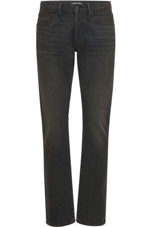 Tom Ford Jeans Slim Fit De Denim Japonés