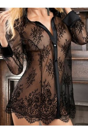 YOINS Lace See Through Design Sexy Lingerie