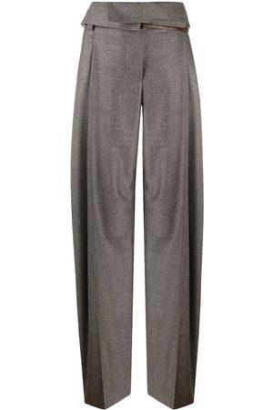 Stella McCartney Mujer Pantalones y Leggings - Pantalones con cintura paperbag