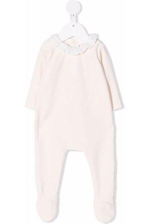 Chloé Kids Pijamas - Pijama con volantes en el cuello