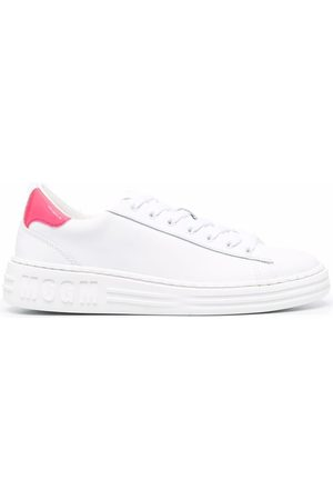Msgm Mujer Tenis - Contrasting heel-counter sneakers