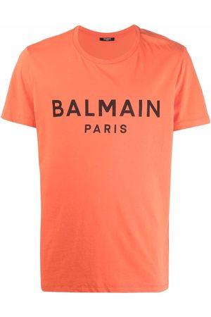 Balmain Hombre Playeras - Playera con logo estampado
