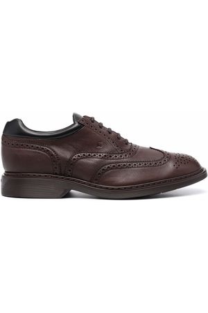 Hogan Hombre Zapatos casuales - Lace-up leather brogues