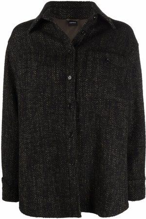 Aspesi Tweed shirt jacket