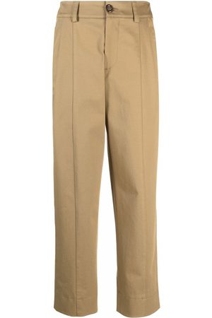 See by Chloé Mujer Pantalones y Leggings - High-waist straight trousers