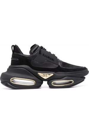 Balmain Mujer Tenis - BBold leather sneakers
