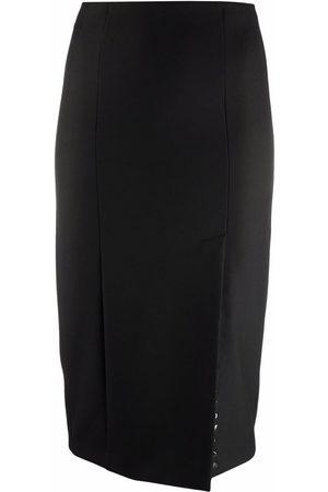Patrizia Pepe Gonna side-slit pencil skirt