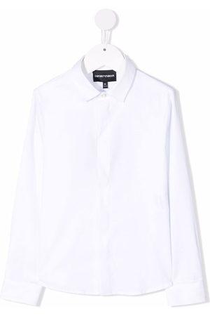 Emporio Armani Niño Manga larga - Long sleeved cotton shirt