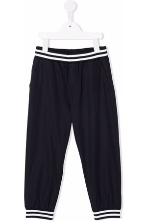 Moncler Niño Pantalones - Stripe detail track pants