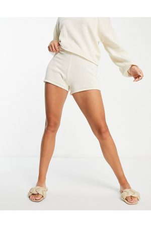 Pieces Organic cotton knitted short co