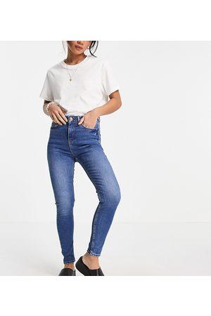 New Look Petite Lift & shape skinny jean in light blue