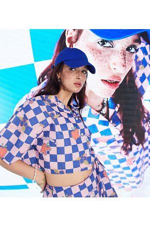 COLLUSION Checker skirt co