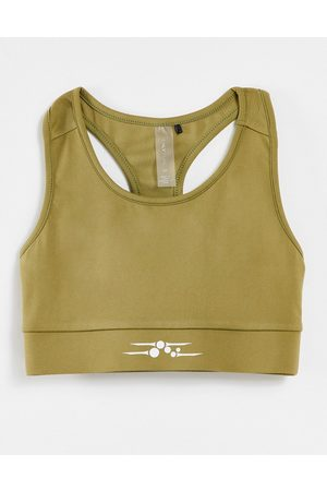 Only Play Circular sports bra in green