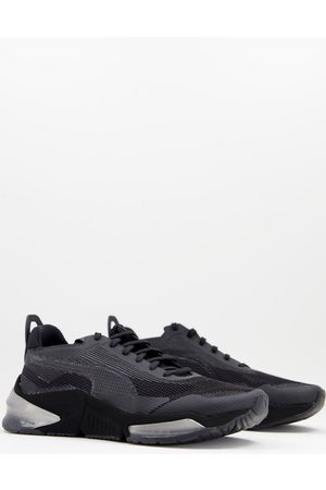 Puma Lqdcell Optic Stealth trainers in black and grey