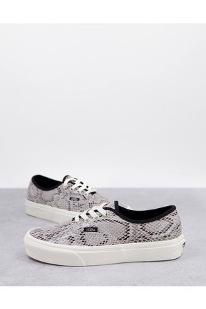 Vans Authentic Snake Print trainers in multi