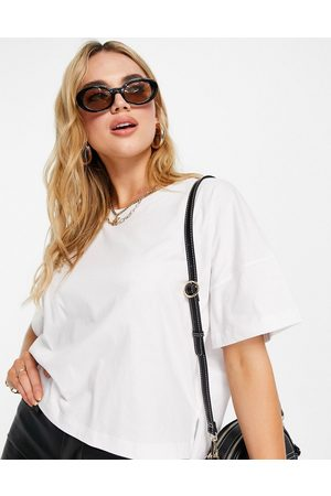 French Connection Tally boxy t