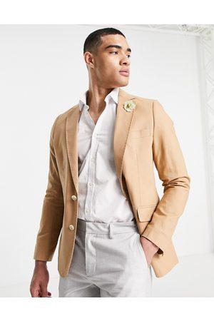 Gianni Feraud Wedding linen slim fit suit jacket