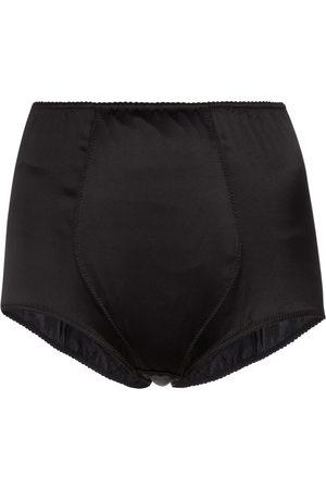 Dolce & Gabbana Mujer Shorts de Lencería - Stretch-silk satin briefs