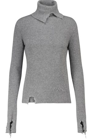 Alanui Mujer Suéteres - Sierra distressed sweater