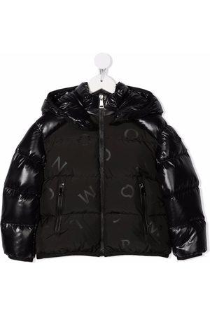 Moncler Niña Chamarras - Logo-print padded down jacket