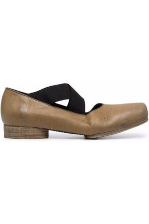 UMA WANG Mujer Flats - Square-toe ballerina shoes