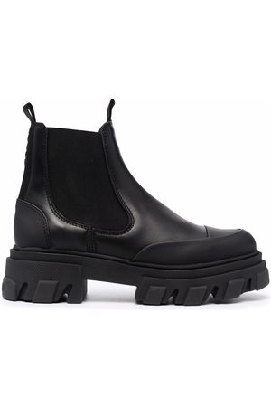 Ganni Mujer Botines - Chunky-sole Chelsea boots