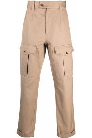 Alexander McQueen Cargo pockets straight trousers