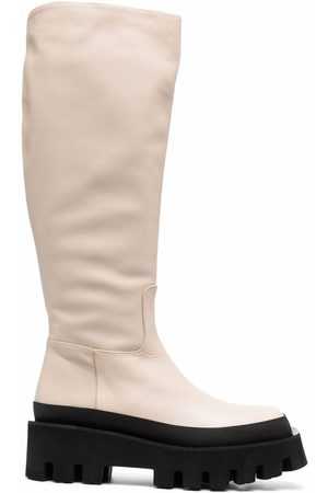 Paloma Barceló Mujer Botas altas - Cecile knee-high leather boots