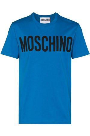 Moschino MOSCH LRG CHST LG SS TEE BLU