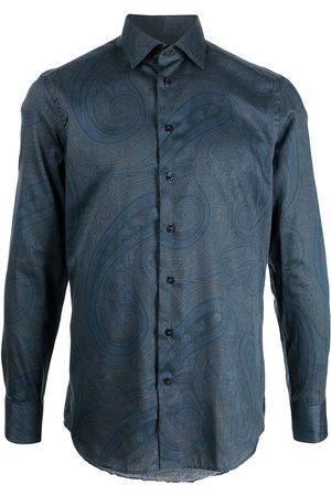 Etro Camisa con estampado de cachemira