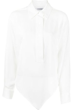 Christopher Esber Mujer Camisas - Asymmetric bandana-scarf shirt