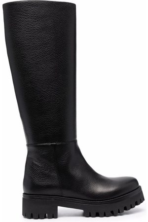 SOCIÉTÉ ANONYME Mujer Botas y Botines - Mid-calf leather boots