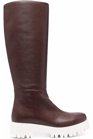 SOCIÉTÉ ANONYME Mujer Botas y Botines - Chunky-sole knee-length boots