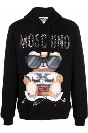 Moschino Hombre Con capucha - Toy Bear print hoodie