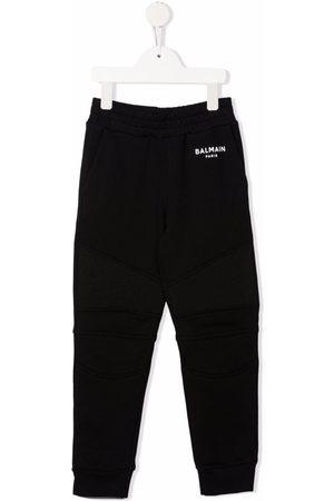 Balmain Niño Pantalones y Leggings - Logo-print track pants