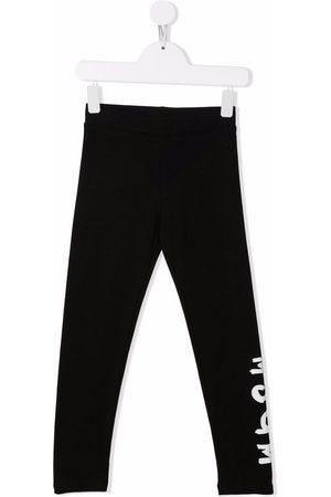 Msgm Niña Leggings y treggings - Logo-print leggings